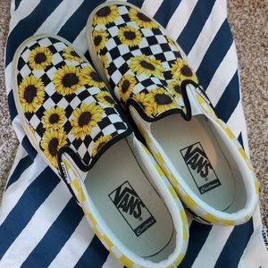 Custom Womans VANS size 10